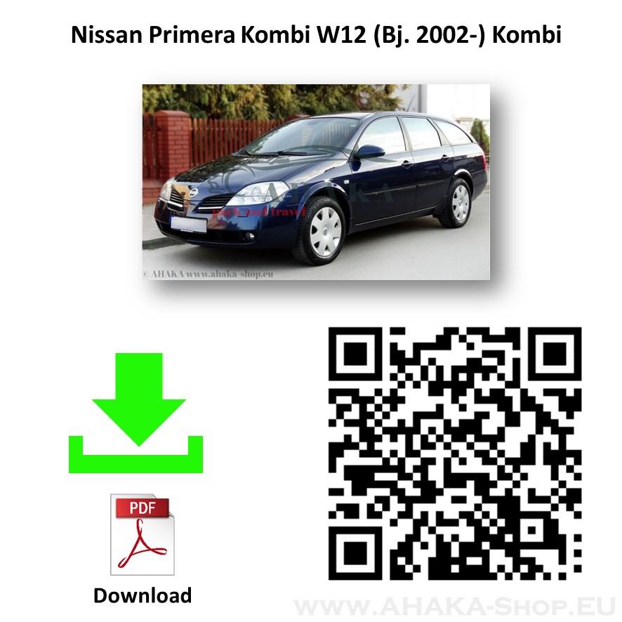 Anhängerkupplung für Nissan Primera Kombi Bj. ab 2002 - günstig online kaufen