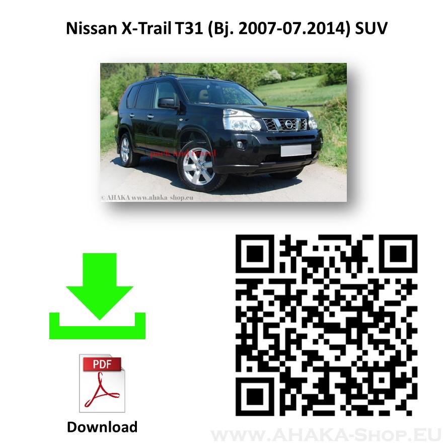 Anhängerkupplung für Nissan X-Trail T31 Bj. 2007 - 2014 - günstig online kaufen