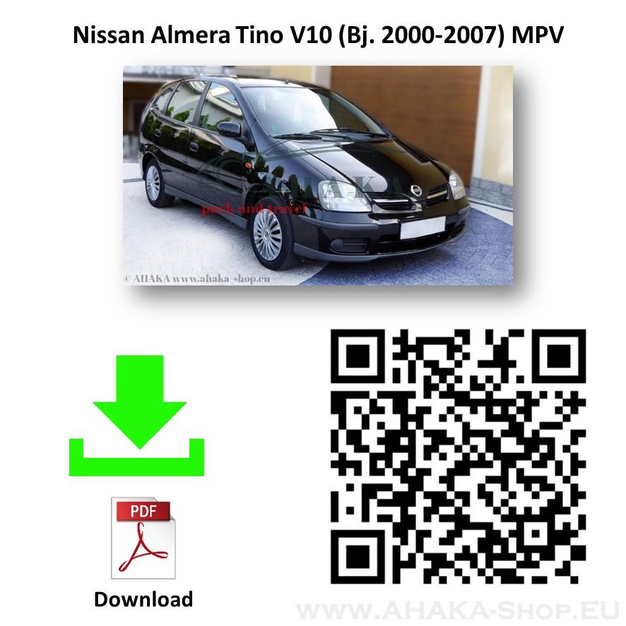 Anhängerkupplung für Nissan Almera Tino Bj. 2000 - 2006 - günstig online kaufen
