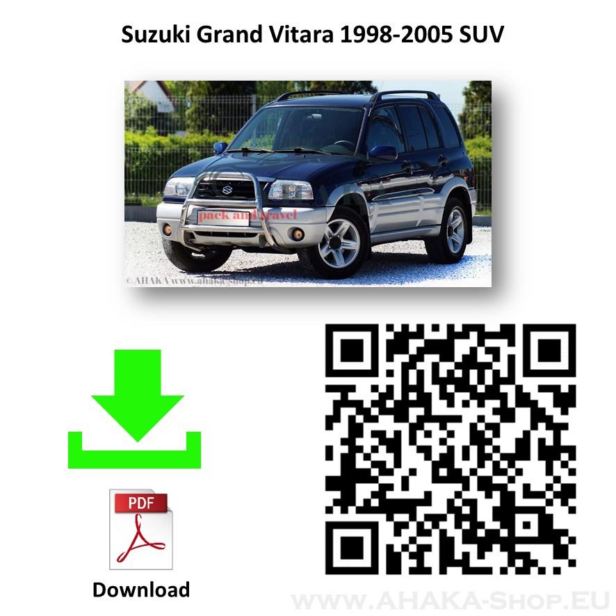 Anhängerkupplung für Suzuki Grand Vitara Bj. 1998 - 2005 - günstig online kaufen