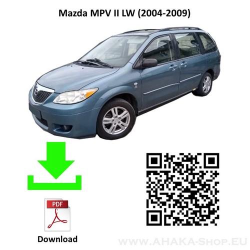 Anhängerkupplung für Mazda MPV LW Bj. 2002 - 2006 - günstig online kaufen