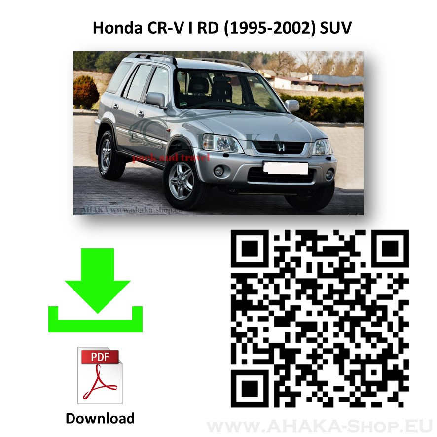 Anhängerkupplung für Honda CR-V Bj. 1997 - 2002 - günstig online kaufen