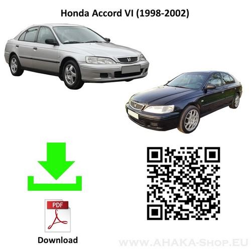 Anhängerkupplung für Honda Accord Stufenheck, Schrägheck Bj. 1998 - 2002 - günstig online kaufen