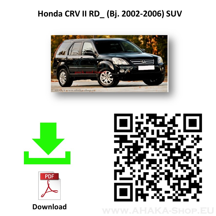 Anhängerkupplung für Honda CR-V Bj. 2002 - 2007 - günstig online kaufen