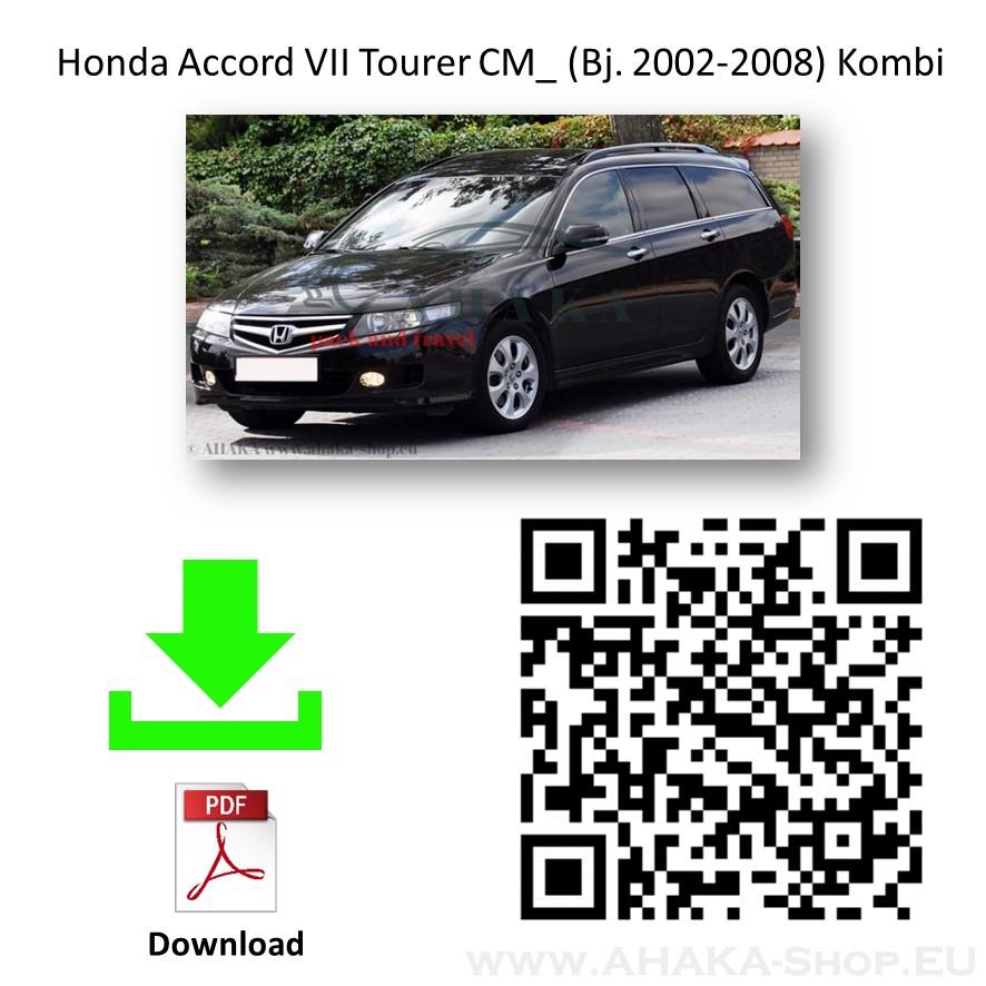 Anhängerkupplung für Honda Accord Tourer Kombi Bj. 2003 - 2008 - günstig online kaufen