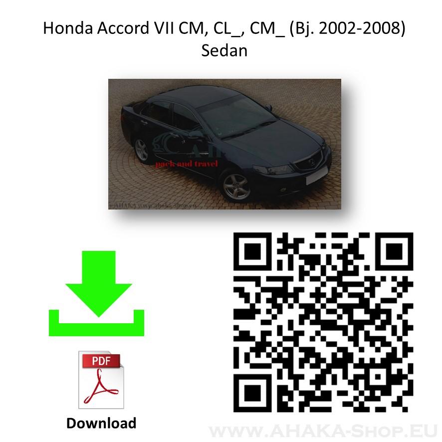 Anhängerkupplung für Honda Accord Stufenheck Bj. 2003 - 2008 - günstig online kaufen