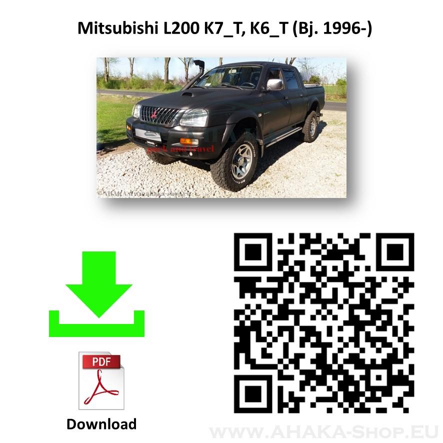 Anhängerkupplung für MITSUBISHI L-200 Pick-up Bj. ab 1996 - 2006 - günstig online kaufen