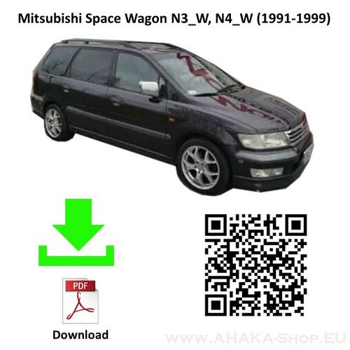 Anhängerkupplung für MITSUBISHI Space Wagon Bj. ab 1991 - 1999 - günstig online kaufen