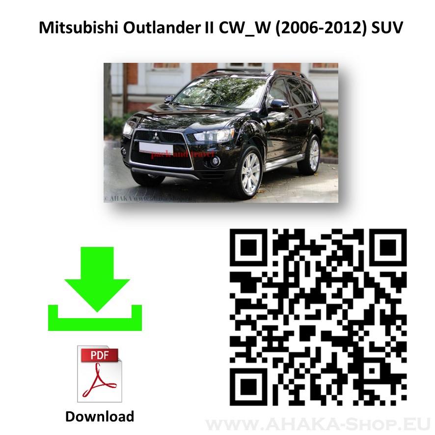 Anhängerkupplung für MITSUBISHI OUTLANDER CW Bj. ab 2007 - 2012 - günstig online kaufen