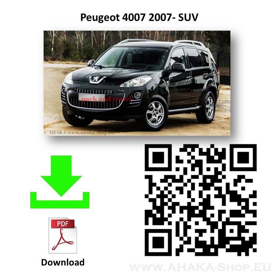 Anhängerkupplung für Peugeot 4007 Bj. 2007 - 2012 - günstig online kaufen