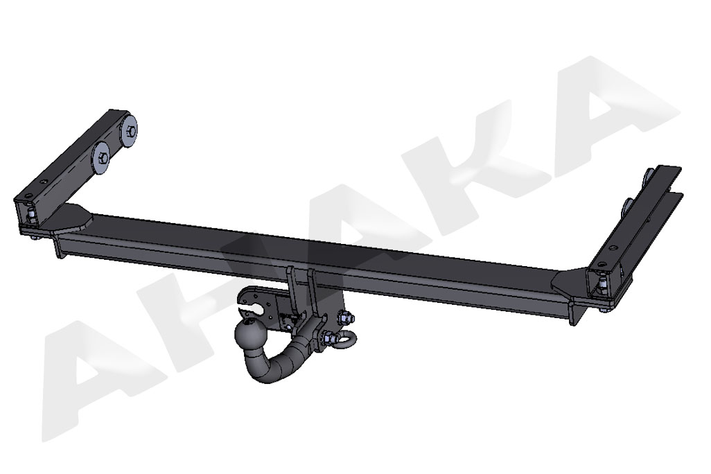 Detachable Towbar with Electric Kit 13Pin for MERCEDES E-CLASS 86-96 S124 Estate