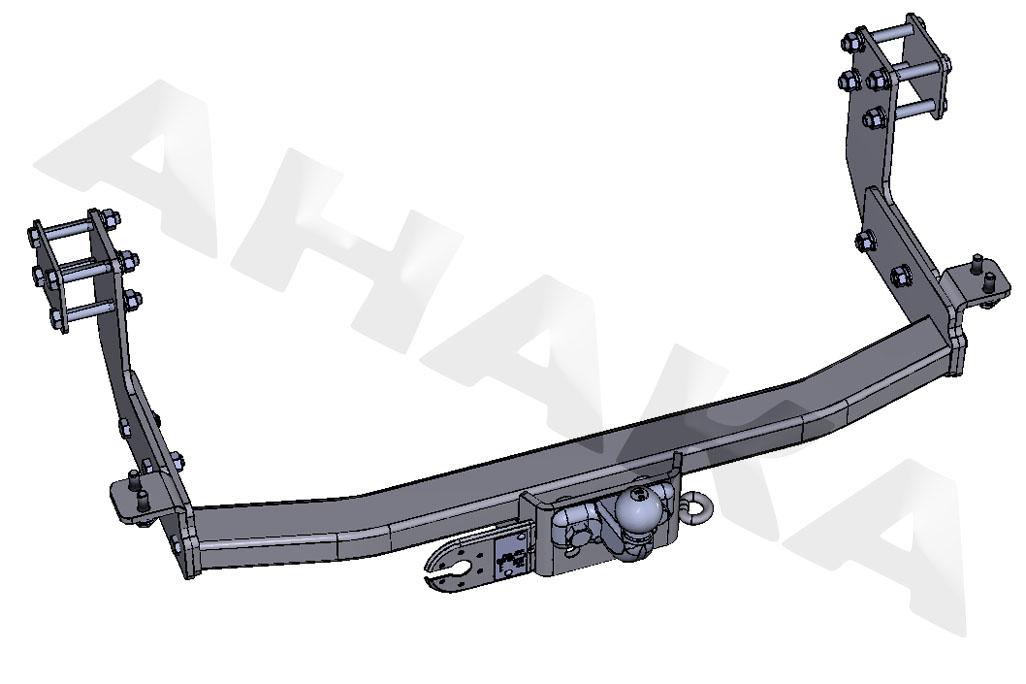 Towbar /& Electric 13pin Mercedes Sprinter SWB 1995-2006 With Rear Step