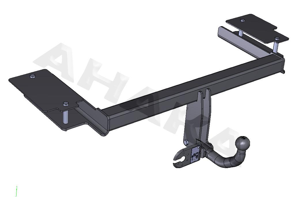 Auto Hak Anhängerkupplung horizontal abnehmbar top Für Vectra C Stufenheck Z02